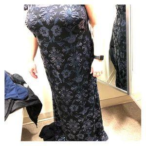 Calvin Klein formal long gown